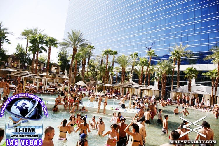 pool party hard rock las vegas